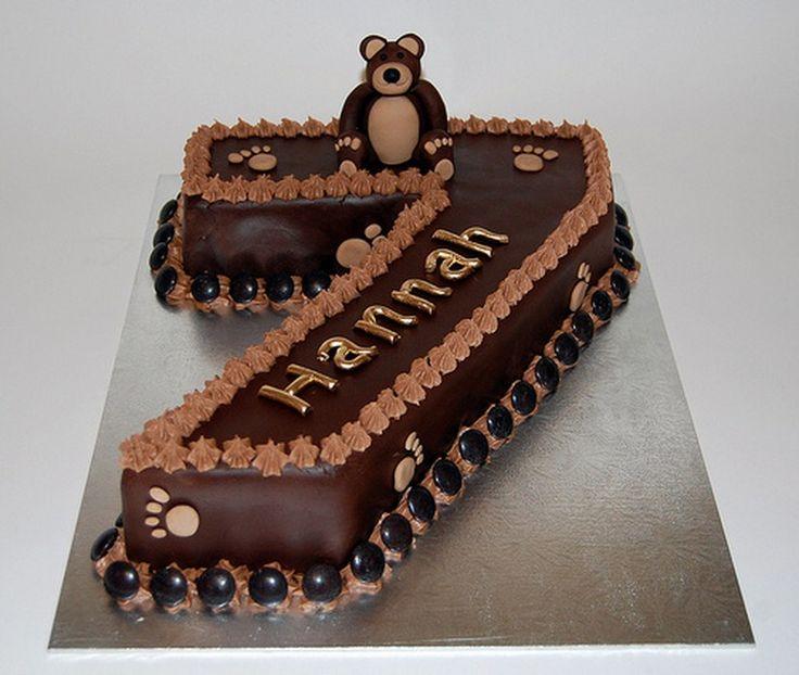 Birthday cakes for Kids: Birthday Cake 7 Years Old Girl ~ ucakedecoridea.com Designs Inspiration