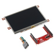 """Arduino Display Module - 4.3"""" Touchscreen LCD - SparkFun Electronics.  This is the display for a RPM trigger device I'm building.  The device will read engine RPM via the CANbus and perform a certain task when a specified RPM is reached."""