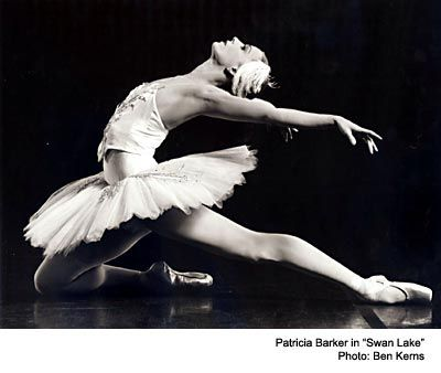 """Patricia Barker in """"Swan Lake"""""""