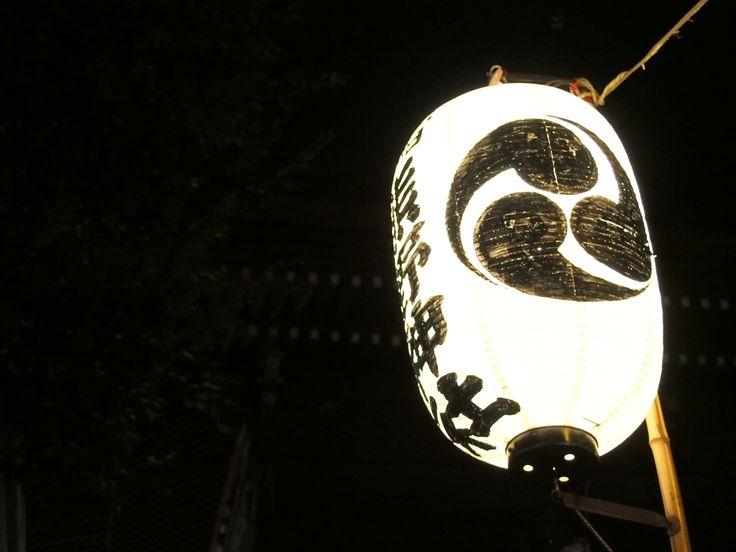 熊野神社の年越しライトアップ