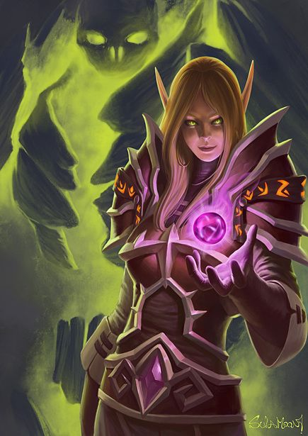 Soul Stone - Blood Elf Warlock... I miss my Lock... but i dont miss playing the game... make sense?