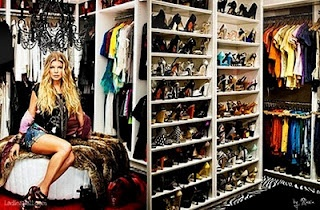 LoveLabels: Famous Closets Fergie