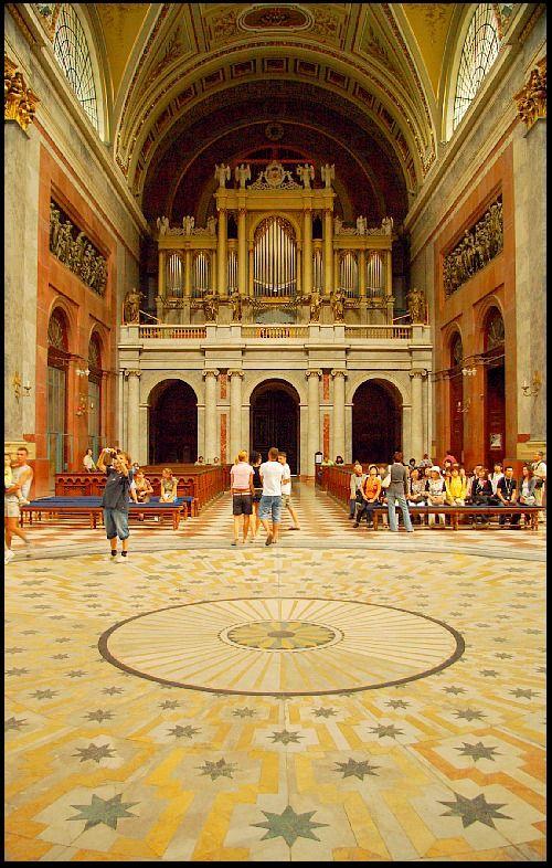 The interior of Basilica, Esztergom - Esztergom, Komarom-Esztergom