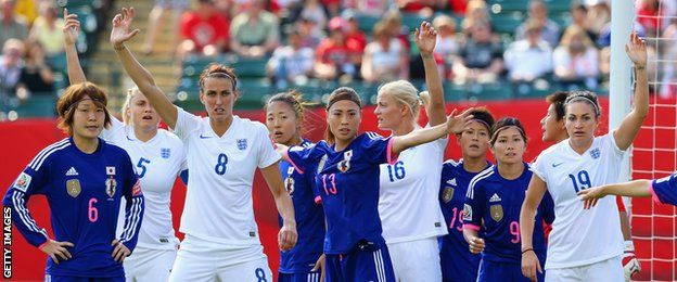 England were knocked out of the Women's World Cup in heartbreaking fashion as Laura Bassett's injury-time own goal sent holders Japan into Sunday's final, 2-1.