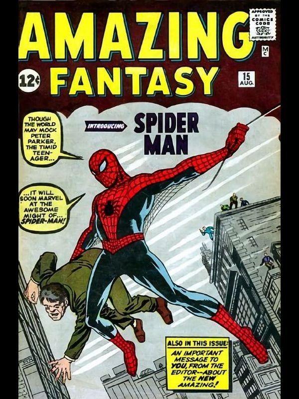 Marvel Steel Cover - Amazing Fantasy 15. Reproduction au format comics, de la couverture US du Amazing Fantasy #15 sur plaque d'acier brossé.  Édition limitée et numérotée a 250ex, livré avec certificat d'authenticité. Produit sous licence officielle Marvel.