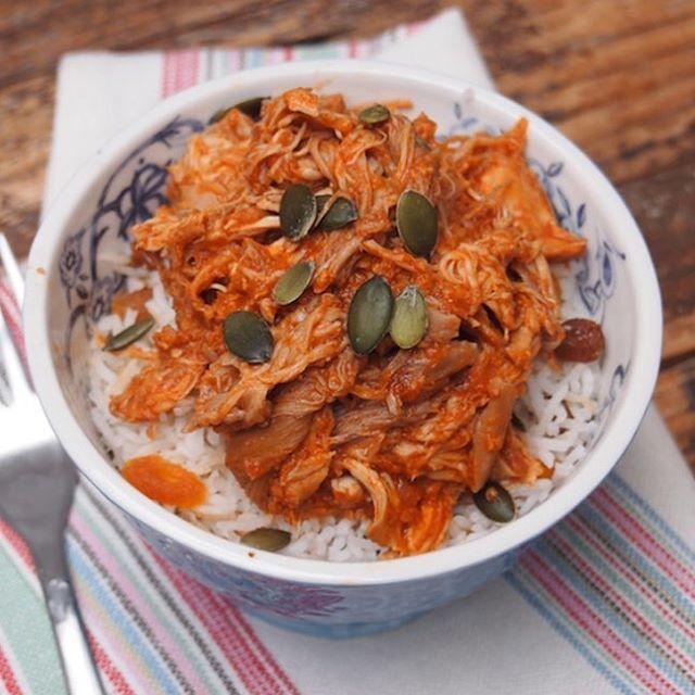 Aujourd'hui on fait du poulet tikka massala au slow cooker…