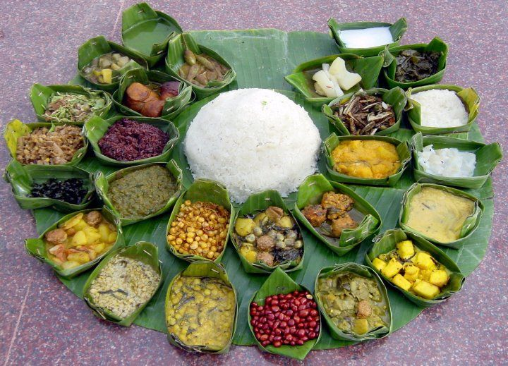 State cuisine make up of totally vegetarian dishes - Manipur, India