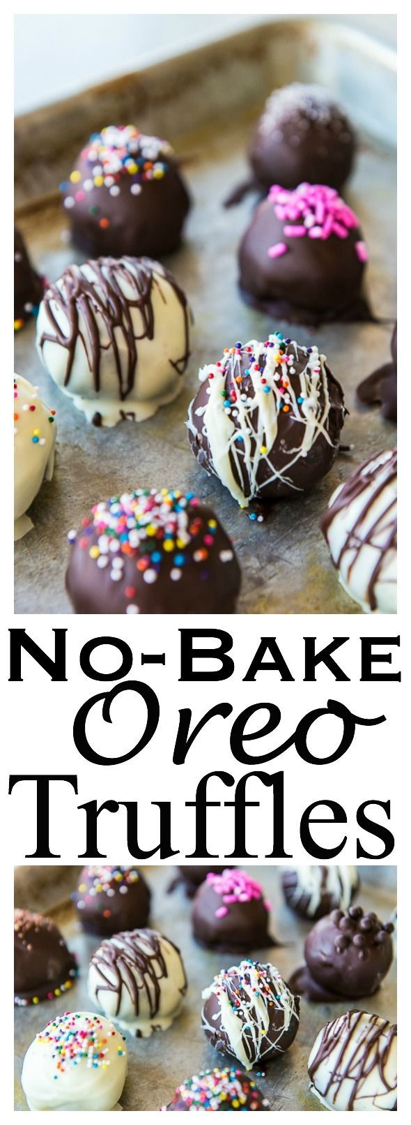 Easy No-bake Oreo Truffles Recipe - Great Food Gift (Chocolate Cheesecake No Bake)