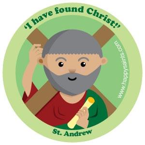 Happy Saints: St. Andrew