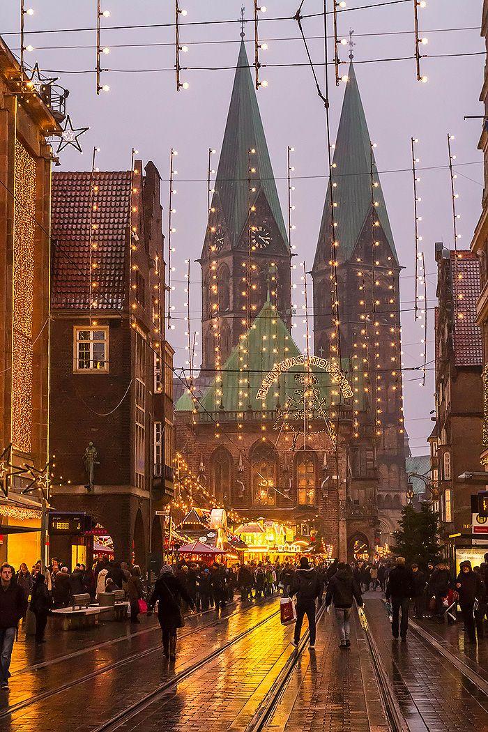 Weihnachtsmarkt in Bremen.