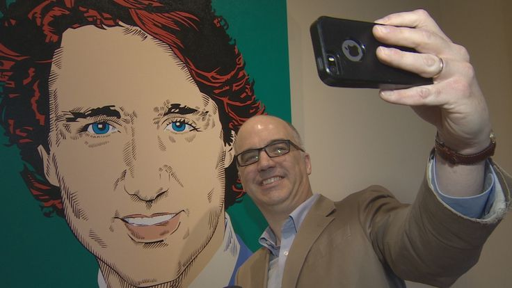 Canada's prime ministers have probably never looked as vibrant as they do in this stylized portrait exhibit at Fredericton's Government House. CBC's Jacques Poitras takes you through it.