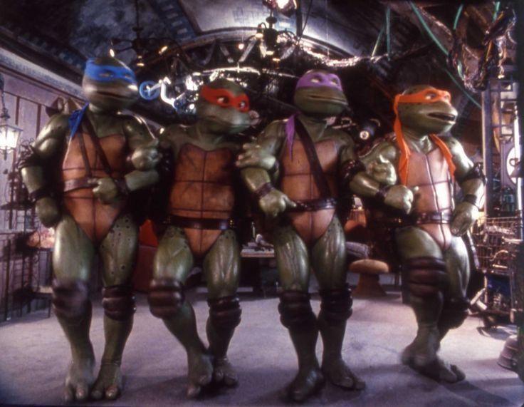 Teenage Mutant Ninja Turtles Movie Collection DVD Review   Flicks ...