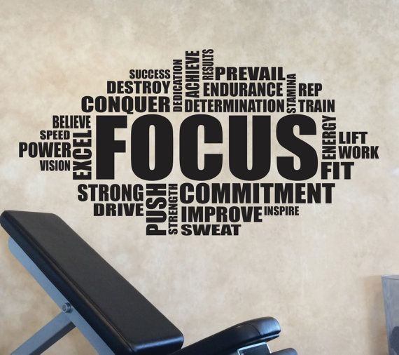 Gym Wall Design: 203 Best Images About Motivational Gym Wall Decals On