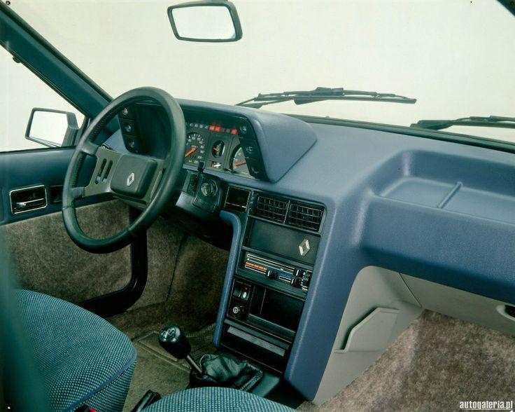 Renault Fuego GTX interior
