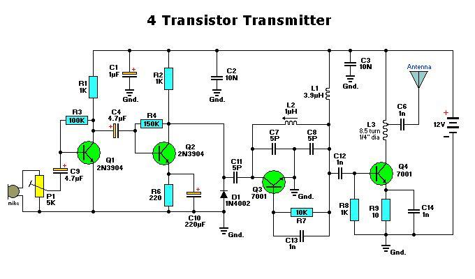 4 Transistor Transmitter #Graffitilens #Favorite