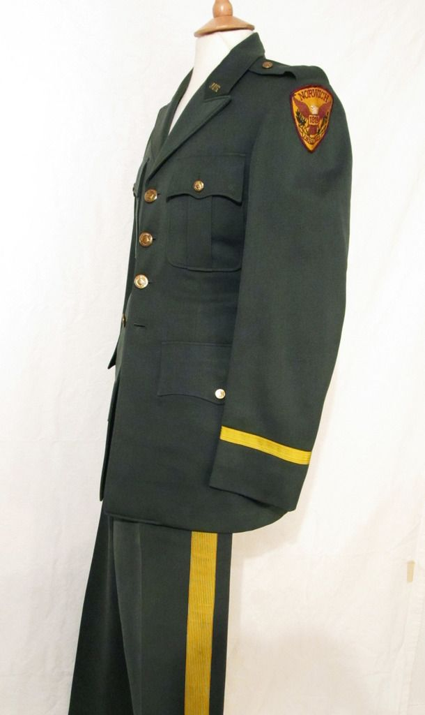 Norwich University (Vermont Military College), USA; ROTC Cadet Service Dress, c. 1955