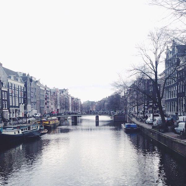 Canal in Amsterdam - http://m-the-expat.com/amsterdam/