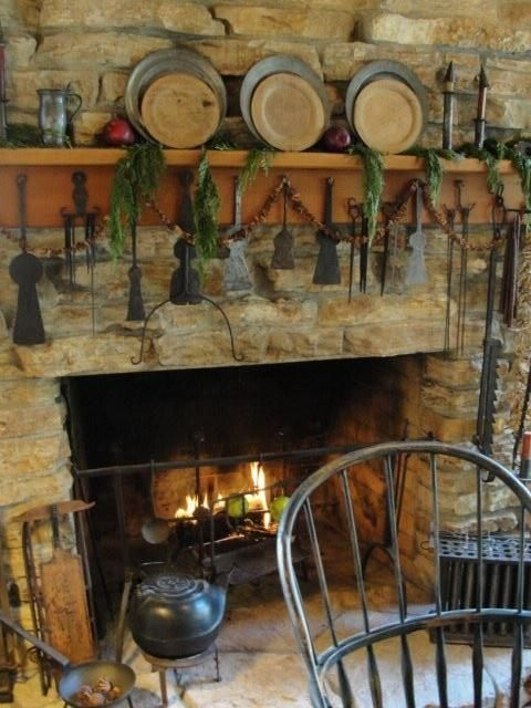 Glowing Hearth Primitive Pinterest Stove Search And