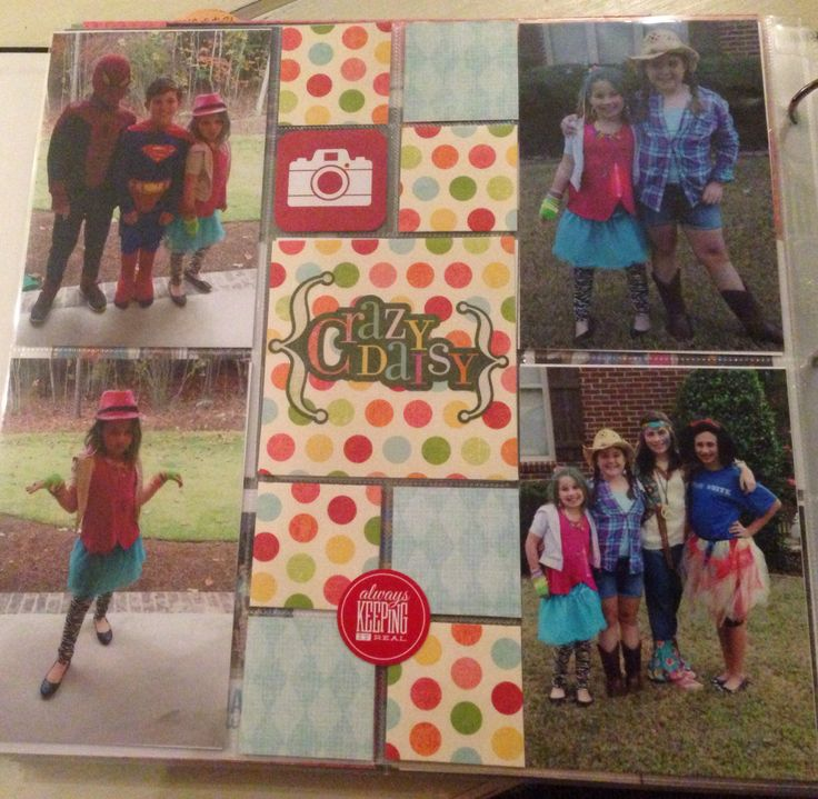 scrapbooking ideas for brownies and guiding