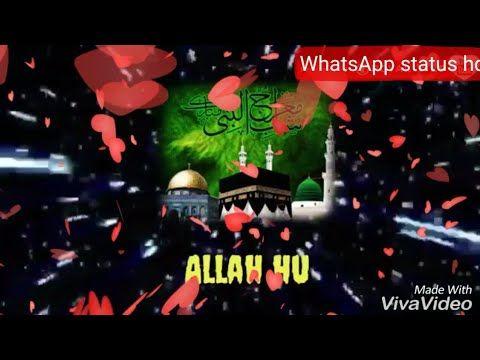 WhatsApp status HD official: Allah Ho hammd for WhatsApp