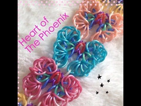 Heart of the Phoenix Bracelet HOOK ONLY DESIGN