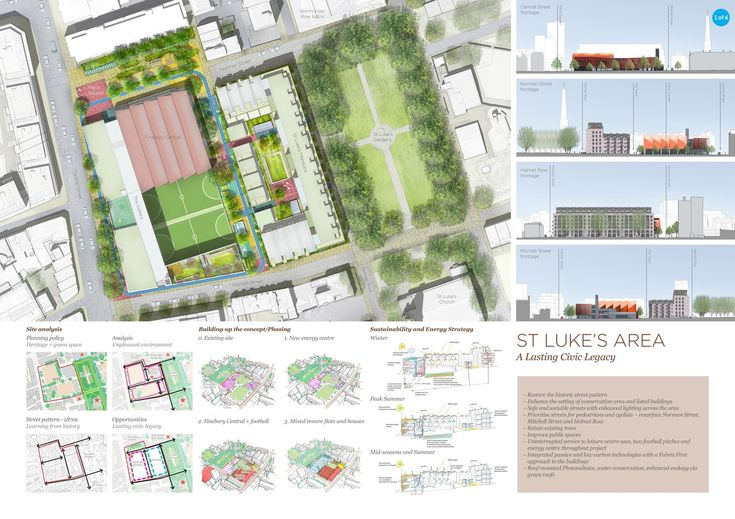 Galeria de Pollard Thomas Edwards Architects' Sawtooth Design Wins Finsbury Leisure Centre Competition - 5