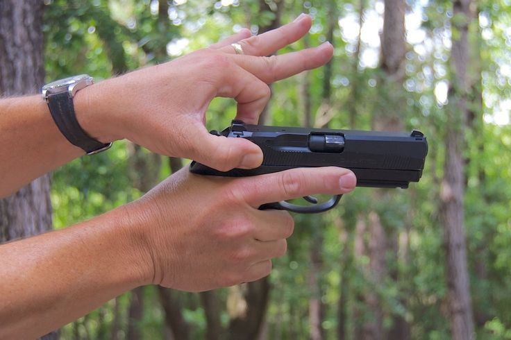 The Seven Deadly Sins of Handgun Shooting: Inappropriate Racking!