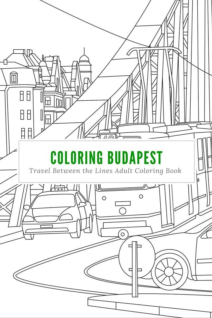 23 best our coloring book for travelers images on pinterest
