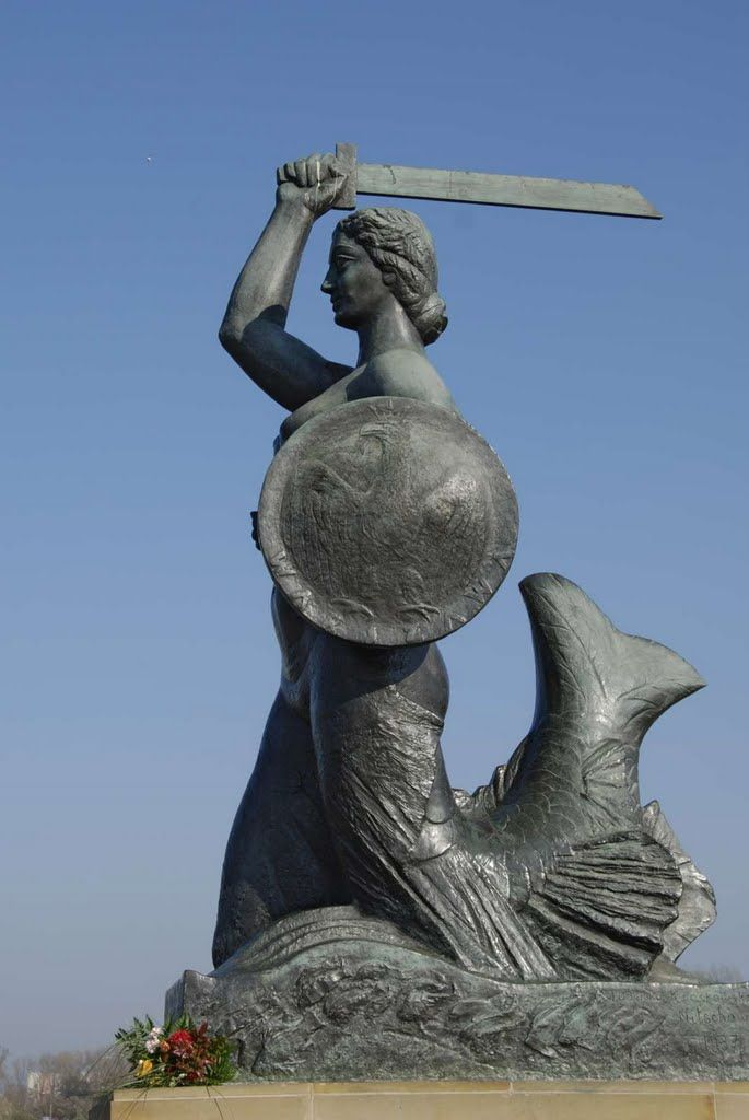Polish Culture — lamus-dworski: Polish legends: Warsaw Mermaid ...