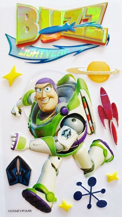 DISNEY WOODY TOY STORY 3 JOLEES BOUTIQUE SCRAPBOOK STICKERS | Scrapping The Magic
