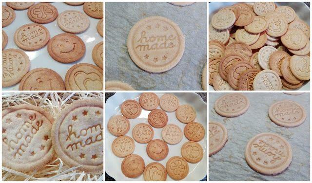 Beauty by K.: Domácí sušenky s fialovými razítky Tescoma