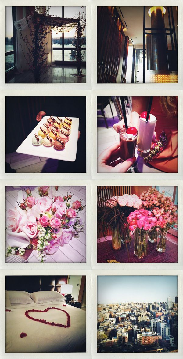 Macarons, milk shakes, flowers, wedding setup & rose petal turndown! Great photos @BrooklynBride #WW #TrumpSoho #ivankatrumpshop