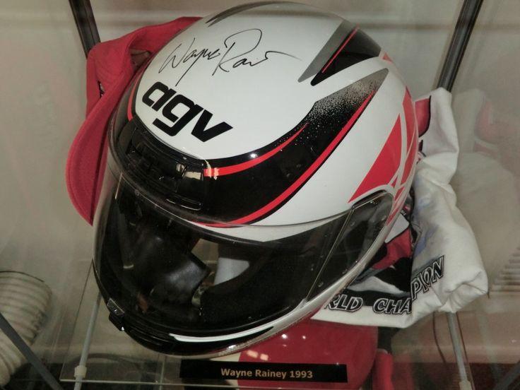 Wayne Rainey Helmet from 1993