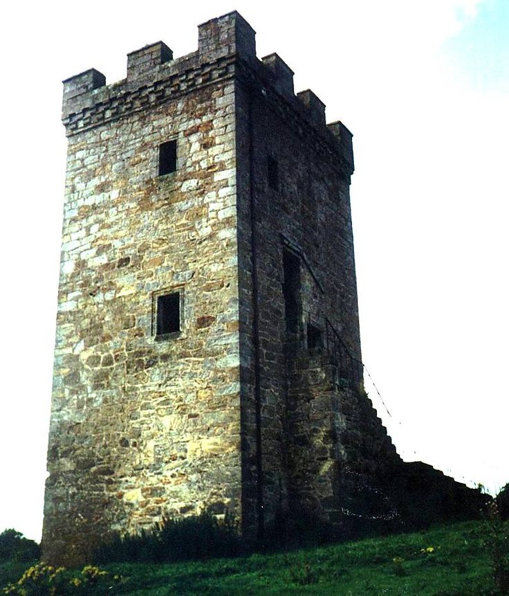 55 best restored castles tower houses and old kirks - The house in the old franciscan tower ...