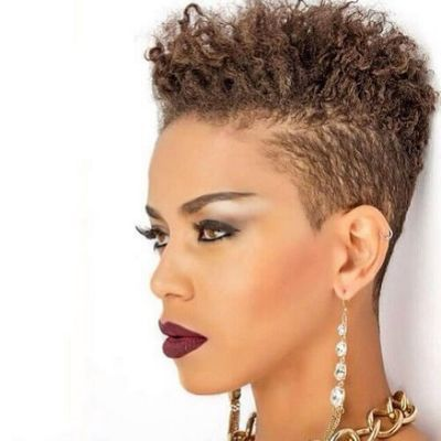 50 Cute Natural Hairstyles for