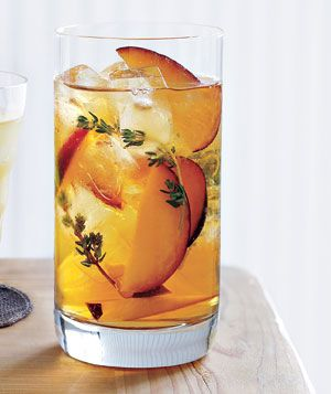 Plum + Thyme Iced Tea: photo by Yunhee Kim, recipe by Sara Quessenberry for Real Simple