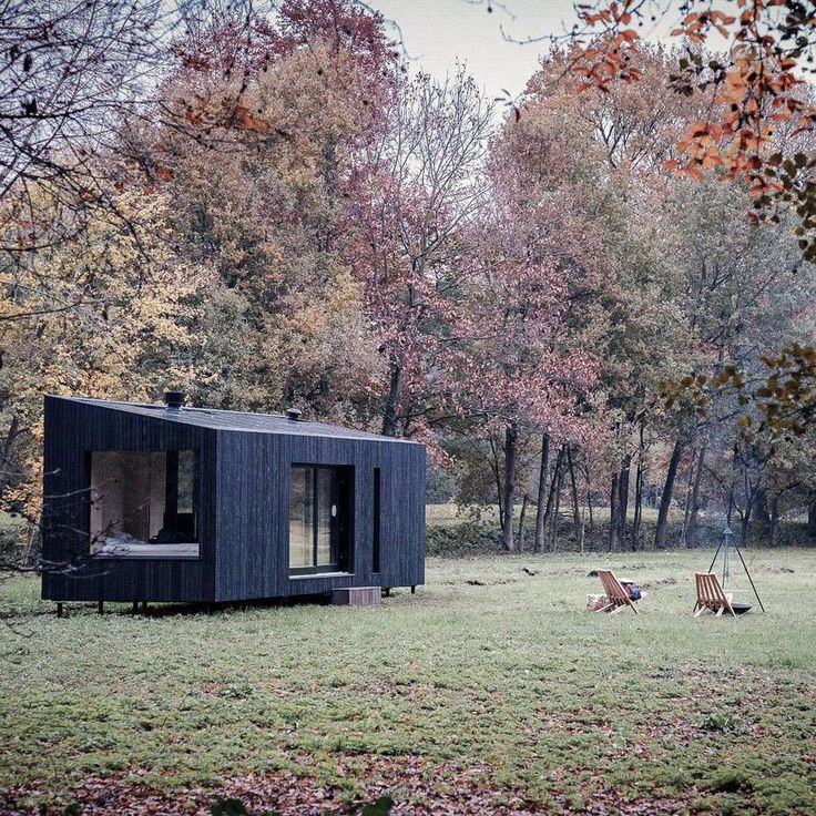 Small Minimalisthouse Design: Modular Cabins, Off Grid Cabin