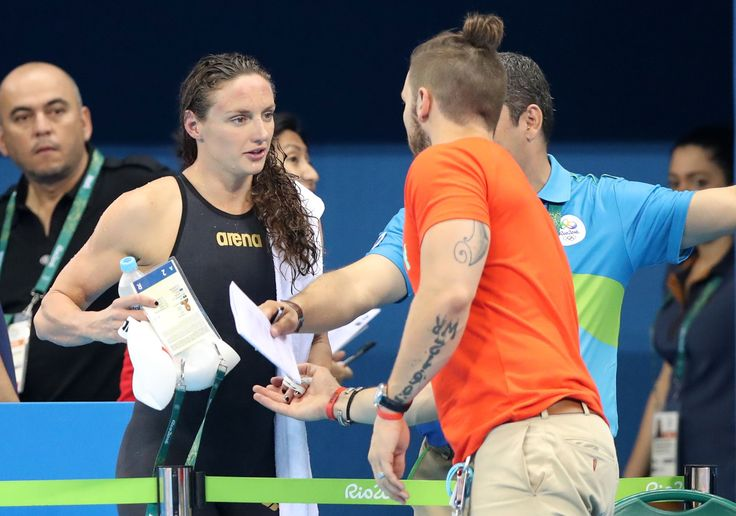 """The NBC commentator criticized for calling the coach and husband of Hungarian swimmer Katinka Hosszu """"the guy responsible"""" for her turnaround said Sunday it is impossible to tell Hosszu's story ..."""