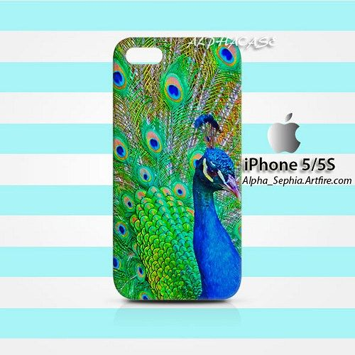 Peacock iPhone 5 5s Case Cover Hardshell