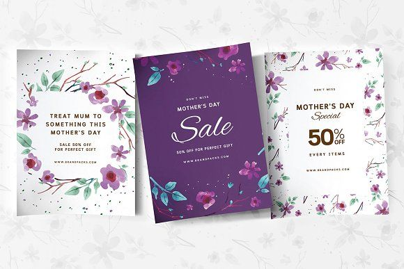 Mother S Day Poster Templates Mothers Day Poster Poster Template Flyer Template