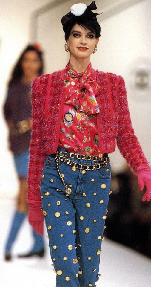 Chanel RTW Fall 1991 | Hip Hop Collection