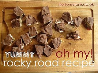 Oh my! ♥ this rocky road recipe - so easy, so yummy!Kids Recipe, Fudge Recipes, Easy Rocky, Roads Recipe, Rocky Roads, Eating Healthy, Healthy Recipes, Healthy Food, Easy Kids