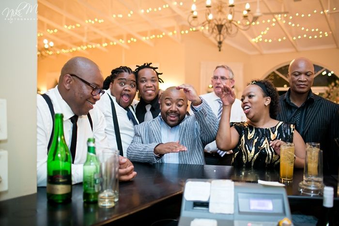 A tall drink; Unathi and Mtunzi's 1920′s Inspired Wedding; The Plantation, Port Elizabeth, South Africa