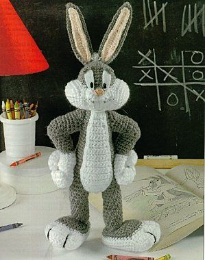 Bugs Bunny - free pdf pattern ( written in French )