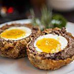 Ovos escoceses para sair da dieta