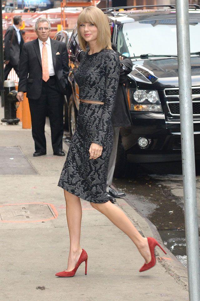 Style : le marathon mode de Taylor Swift | Glamour