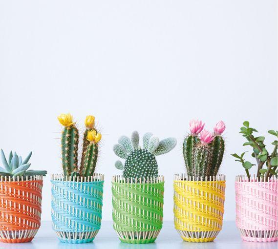 """Vase """" Tressage """" via Goodmoods"""