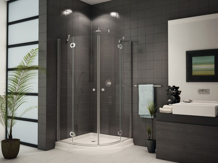 Best price to buy Fleurco Platinum Diva x Corner Round Shower Door  Glass  to Glass Hinges online from our Exotic Home Expo website 92 best Shower   Tub Doors images on Pinterest   Glass showers  . Mobile Home Shower Doors. Home Design Ideas