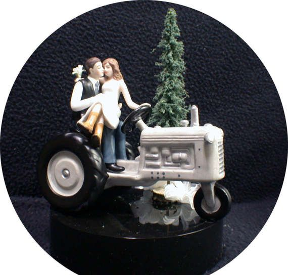 SEXY Tractor Country Western Farmers Only U PICK by YourCakeTopper