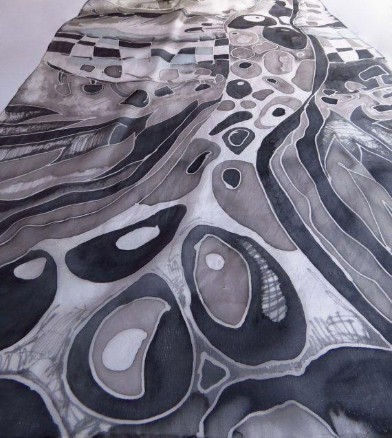 16 best Silk Scarves by Laurella Art images on Pinterest
